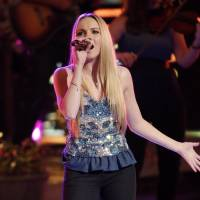 Photo - Danielle Bradbery performs on the singing competition series