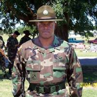 Photo - Master Sgt. John Hill, Memorial Day 2004  PROVIDED