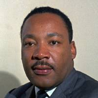 Photo - FILE--The late Rev. Martin Luther King Jr. is shown in this undated photo. King would celebrate his 69th birthday Thursday, Jan. 15, 1998.(AP Photo)