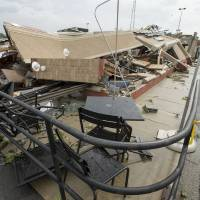 Tornadoes damage Indiana, but leave no one seriously hurt