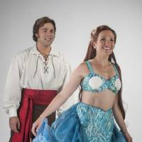 """Photo -  Storm Lineberger plays Prince Eric and Amanda Lea LaVergne plays Princess Ariel in Disney's """"The Little Mermaid."""" Photo by K.O. Rinearson"""