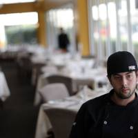 Photo - Chef Henry Boudreaux at the Museum Cafe.  SARAH PHIPPS - SARAH PHIPPS