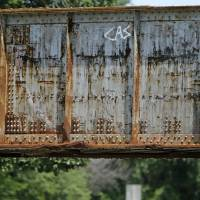 Photo -  A man died Thursday in accident at this railroad bridge on NE 23 near Sooner Road in Oklahoma City. Photo by Bryan Terry, The Oklahoman   BRYAN TERRY