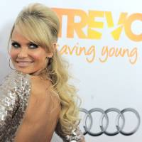 Photo - Kristin Chenoweth arrives at Trevor Live at the Hollywood Palladium on Sunday in Los Angeles. Photo by Jordan Strauss/Invision/AP  Jordan Strauss