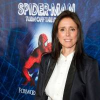 Photo - FILE - In this June 14, 2011 file photo, Julie Taymor arrives at the opening night performance of the Broadway musical