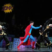 Photo - This undated image released by Helene Davis Public Relations shows Edward Watts as Superman, center, in Encore's