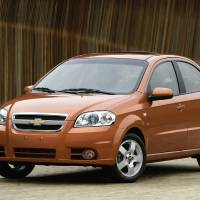 Photo - FILE - This undated file photo provided by General Motors shows the 2007 Chevrolet Aveo LT. General Motors on Wednesday, May 21, 2014 recalled 218,000 Chevrolet Aveo subcompact cars, model years 2004 through 2008. The daytime running light module in the dashboard center stack can overheat, melt and catch fire.  (AP Photo/General Motors)