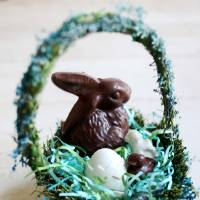 Photo - Make your own Easter basket with classic molds and a variety of flavored candy melts. (Juli Leonard/Raleigh News & Observer/MCT)