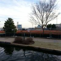 Photo -  Site work has started for the future KD's restaurant along the Bricktown Canal in Lower Bricktown.