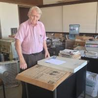 Photo -  David Sellers has owned The Capitol Hill Beacon since 1967. His mission has been to provide positive news to the community at large on a weekly basis.