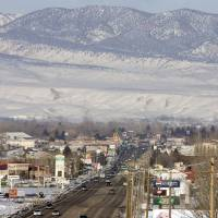 Photo - FILE - In this Feb. 10, 2011 file photo, downtown Vernal, Utah is shown. State health officials are pledging to look into claims that stillbirths are on the rise in the Eastern Utah community of Vernal, that is home to a boom in gas and oil development. Activists say a climbing rate of neonatal deaths in the Uinta Basin stems from industrial smog. But researchers and health officials aren't ready to draw such a link.  (AP Photo/The Salt Lake Tribune, Steve Griffin, File)