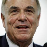 Photo - In this Monday, Jan. 3, 2011 photo, Gov. Ed Rendell makes remarks during a news conference in Philadelphia. Former Pennsylvania Gov. Rendell had been invited to join Philadelphia Inquirer co-owner Lewis Katz on a doomed weekend trip to Boston. Rendell said Katz tried to persuade him on Friday, May 30, 2014, to attend an event at historian Doris Kearns Goodwin's home, but Rendell had another commitment. (AP Photo/Matt Rourke)