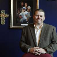 Photo - Richard Denny officially became executive director of the Jesus House in October 2011.  Steve Gooch