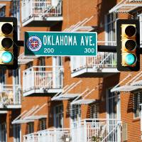 Photo - Rows of balconies overlook NE 2 and Oklahoma Avenue in Deep Deuce, a downtown Oklahoma City neighborhood that is seeing rapid growth. Photo by Steve Gooch, The Oklahoman