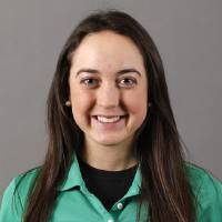 Photo - Alexis Sadeghy with the Bishop McGuinness girls golf team poses for a mug during the spring high school sports photo day in Oklahoma City, Wed. Feb. 27, 2013. Photo by Bryan Terry, The Oklahoman