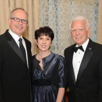 Photo - Stan Clark, Mary Pointer, George Nigh. Photo by David Faytinger, for The Oklahoman