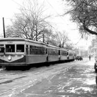 Photo -  The Oklahoma City streetcar, 1946,