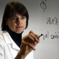 Photo - Oklahoma Medical Research Foundation scientist Susannah Rankin.