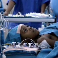 Photo - Angelique, a 6-year-old Rwandan girl, prepares to undergo life-saving heart surgery 2,500 miles from home in the Oscar-nominated short documentary