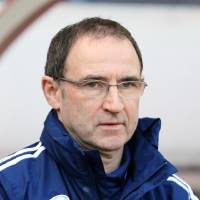 Photo - Sunderland's manager Martin O'Neill, ahead of  his team's English Premier League soccer match against Manchester United,  at the Stadium of Light, Sunderland, England, Saturday, March 30, 2013. (AP Photo/Scott Heppell)