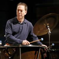 Photo - Timpanist Lance Drege in rehearsal with the Oklahoma City Philharmonic's percussion section.   Photo by Nate Billings, The Oklahoman  NATE BILLINGS - NATE BILLINGS