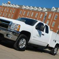 Photo - Chesapeake Energy Corp. has completed all 800 vehicles in its Oklahoma fleet to run on compressed natural gas. The company intends to have its entire 4,200-vehicle fleet running on CNG by 2014.   - provided
