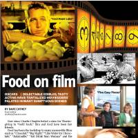 Photo - Food on film GRAPHIC with movie photos 1) Scene from the movie / film