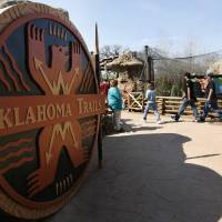 Photo - The Oklahoma City Zoo's new Oklahoma Trails exhibit in Oklahoma City, Okla., Saturday, March 10, 2007. By James Plumlee, The Oklahoman ORG XMIT: kod