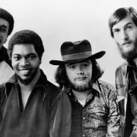 Photo -   FILE - Soul rockers Booker T and the MGs are seen in this Jan. 1970 file photo, from left to right: Al Jackson, Jr., Booker T. Jones, Donald