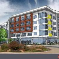 Photo -  This $42.5 million, 327-unit apartment complex is set to be built on the site of the former Plaza Hotel Tower.