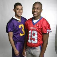 Photo - OU signee Justin McCay, a linebacker/wide receiver out of Shawnee, Kan. (Biship Miege). PHOTO BY JIM BARCUS, COURTESY KANSAS CITY STAR