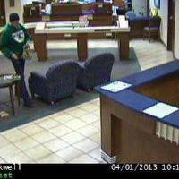 Photo - The robber in Monday's bank robbery at RCB Bank, 1350 W Doolin Ave. in Blackwell. Photo provided.