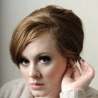 Photo -   FILE - In this Feb. 2, 2009 file photo. British singer-songwriter Adele poses for a portrait in West Hollywood, Calif. (AP Photo/Chris Pizzello, File)