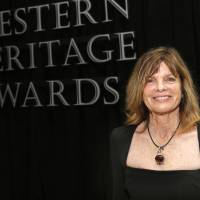Photo -  Katharine Ross was inducted Saturday into the Hall of Great Western Performers at the National Cowboy & Western Heritage Museum.    SARAH PHIPPS -