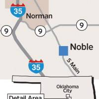 Photo - MAP / GRAPHIC: Norman - Noble		ORG XMIT: 1003200036554468