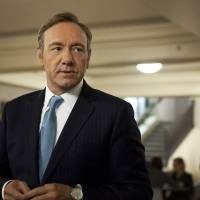 Photo - This image released by Netflix shows Kevin Spacey as U.S. Congressman Frank Underwood in a scene from the Netflix original series,
