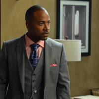 Photo - This image released by ABC shows Columbus Short portraying Harrison Wright in a scene from the TV series,