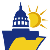 Photo - OPENNESS IN GOVERNMENT LAWS: SUNSHINE WEEK - YOUR RIGHT TO KNOW logo, graphic, symbol