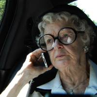 Photo - FILE - This film image released by the Sundance Selects shows Elaine Stritch in a scene from