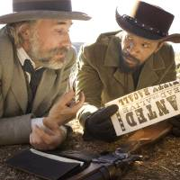 Photo - Christoph Waltz as Dr. King Schultz, left, and Jamie Foxx as Django in the film,