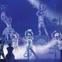 "Photo -  Performers dressed as mummies dance to the Michael Jackson hit ""Thriller"" in Cirque du Soleil's ""Michael Jackson The Immortal"" world tour. Photo provided"