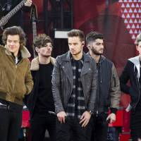 Photo - FILE - This Nov. 26, 2013 file photo shows One Direction members, from left, Harry Styles, Louis Tomlinson, Liam Payne, Zayn Malik and Niall Horan on ABC's
