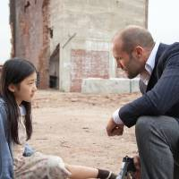 Photo - Catherine Chan portrays Mei and Jason Statham portrays Luke Wright in a scene from
