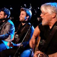Photo - From right, Zach Swon, Colton Swon and Bob Seger perform on the June 18 Season 4 finale of