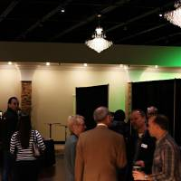 Photo - Attendees gather at the new JourneyChurch.tv-Southwest Oklahoma City campus at 10601 S Western. Photo provided by sharleerotherphotography.com