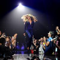 Photo - IMAGE DISTRIBUTED FOR PARKWOOD ENTERTAINMENT - Singer Beyonce performs on her