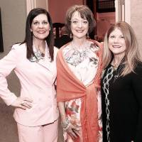 Photo - Amber Tytenicz, Lisa Synar, Susie Symcox.  PHOTO BY DOUG HOKE, The Oklahoman