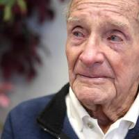 Photo - World War II veteran Allen Vann is shown at the