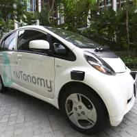 World\'s first self-driving taxis debut in Singapore