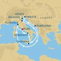 Photo -  From Rome around the coast of Italy and back to Rome, a perfect itinerary.